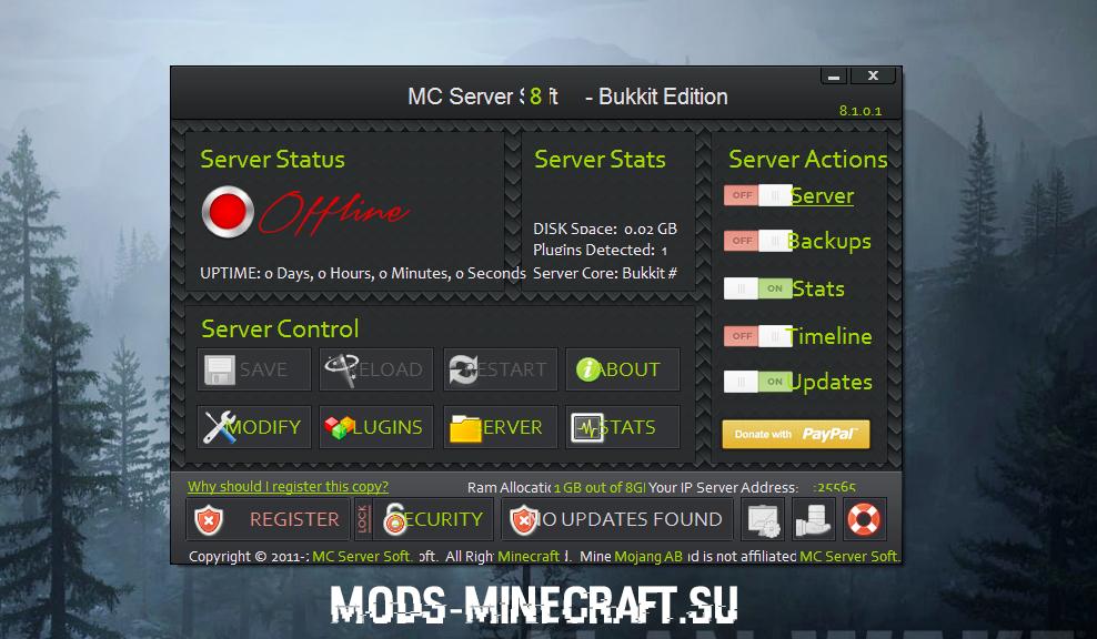 скачать программу для создание сервера в майнкрафт 1.7.2 #1