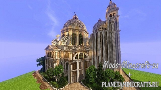 Schematic minecraft Санта-Мария Dellas