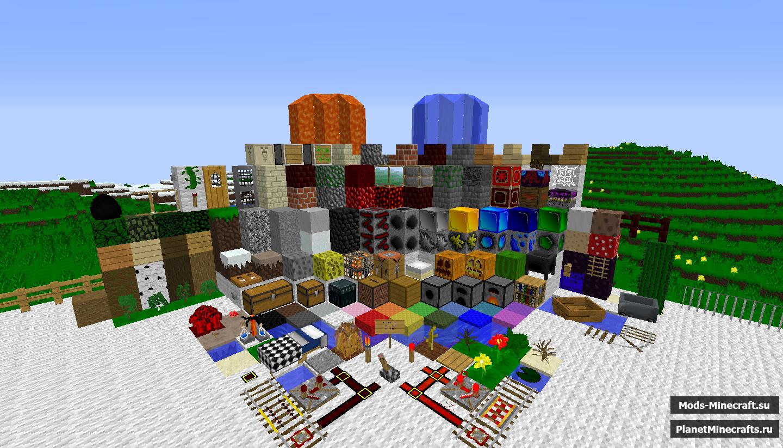 Текстуры для майнкрафт, Текстур паки ...: mods-minecraft.su/tekstury
