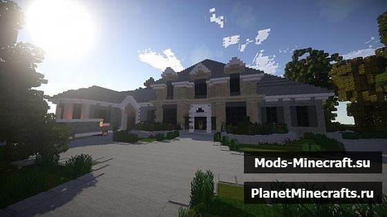 Майнкрафт как сделать красивый дом легкий