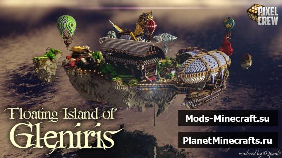 скачать майнкрафт остров зомби