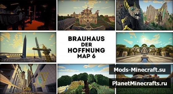 Карты для майнкрафт с замком и деревней