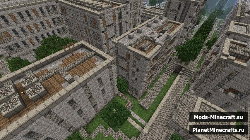 Скачать карту S.T.A.L.K.E.R путь на ЧАЭС для Minecraft