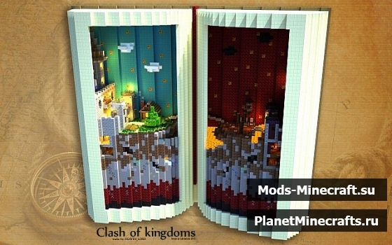 Clash of Kingdoms SkyWars майнкрафт