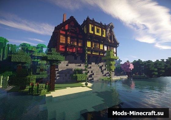 Mansion средневековый дом