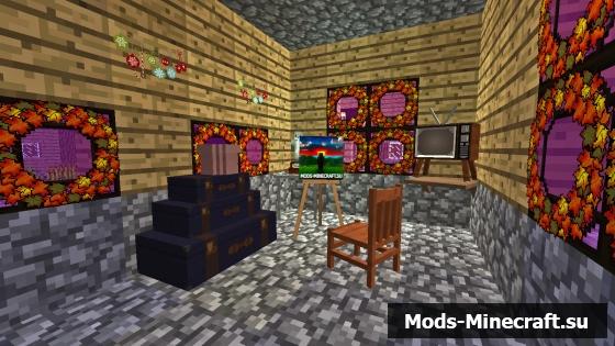 Скачать Моды На Майнкрафт 1.7.10 На Украшения Для Дома