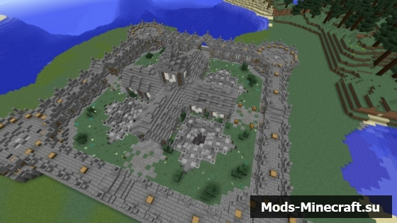 Спавн для Майнкрафт, Скачать готовую карту spawn minecraft ...